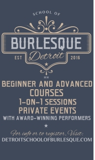 Detroit School of Burlesque Classes